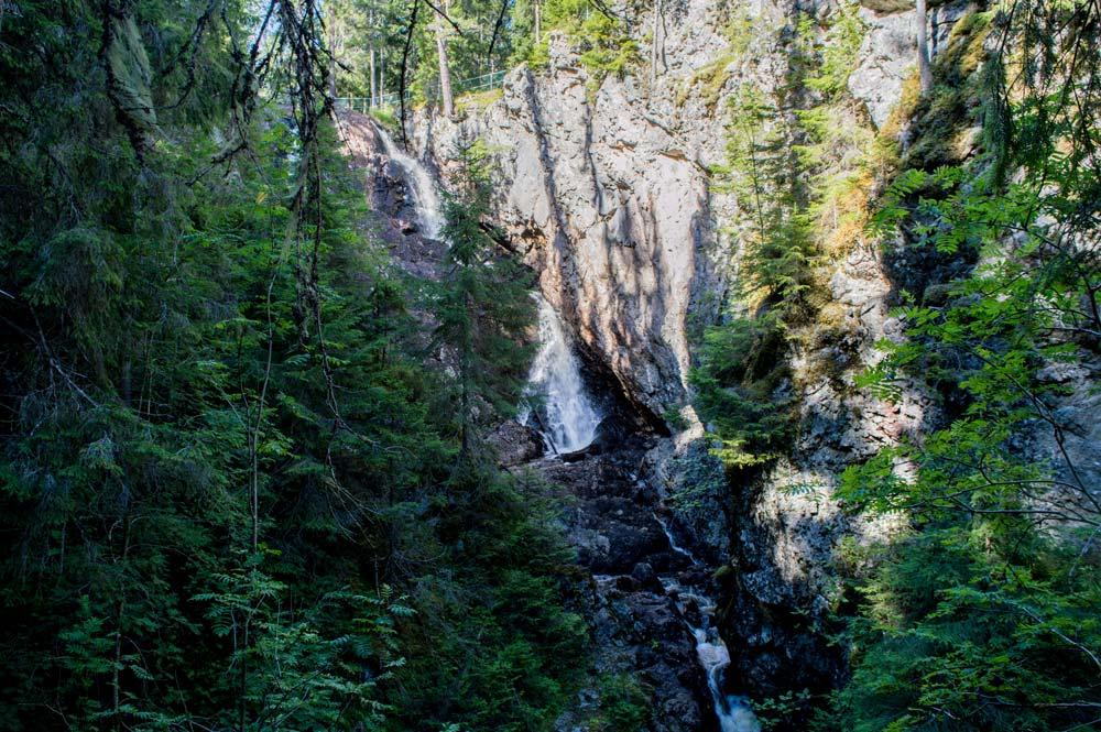 Styggforsen waterfall.