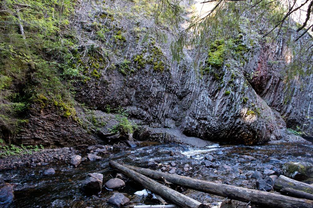 Styggforsen waterfall