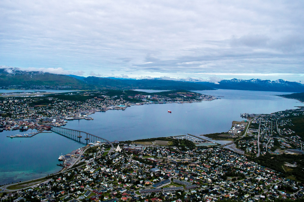 View over Tromsø.