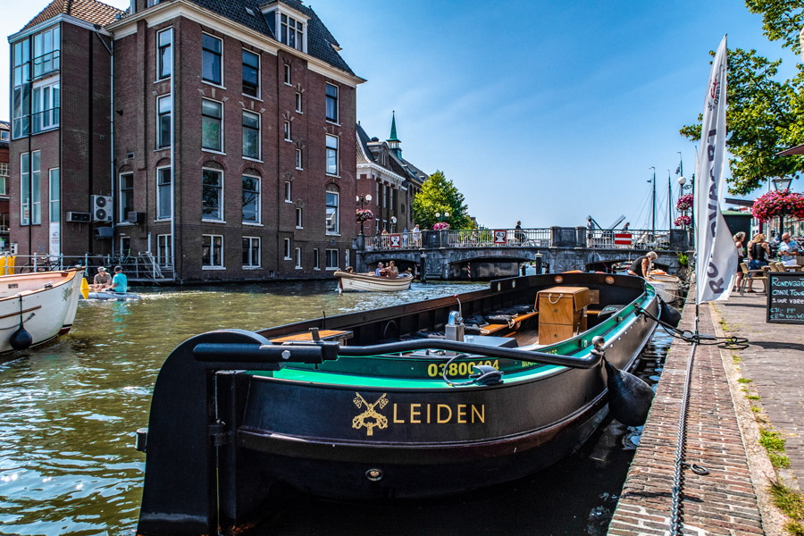 Canal Cruise Leiden The Netherlands