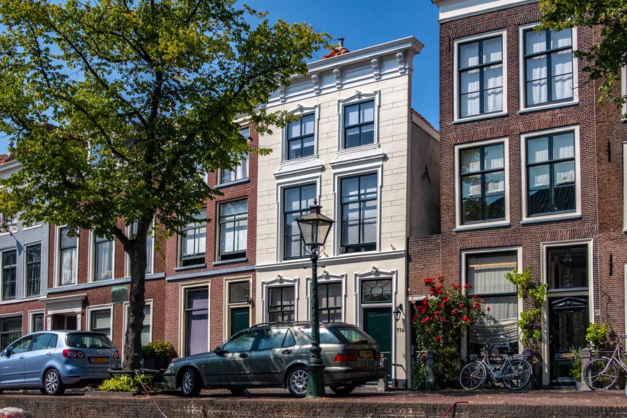 Canal Cruise Leiden Netherlands Holland House of King Willem Alexander