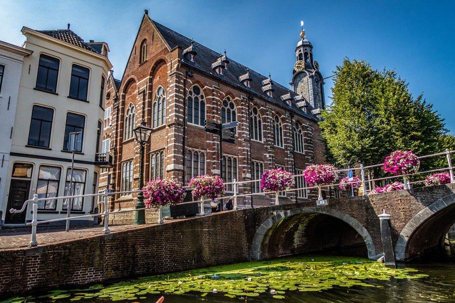 Canal Cruise Leiden The Netherlands Sweat room Leiden University